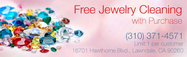 Free Jewelry Cleaning